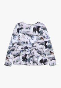 Molo - ROSALIND - Langærmede T-shirts - mottled grey - 1