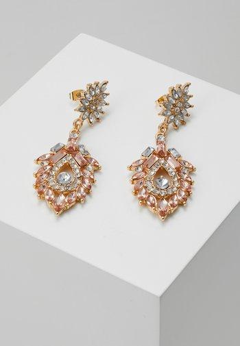 PCJOLLI EARRINGS - Earrings - gold-coloured/champagne