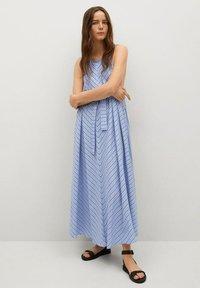 Mango - Maxi dress - blå - 0