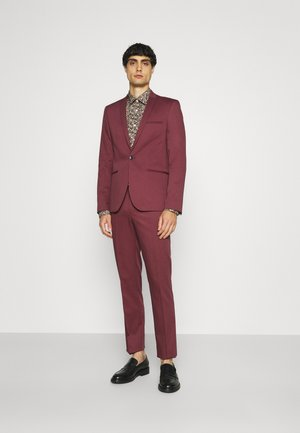 GOTHENBURG SUIT - Completo - maroon
