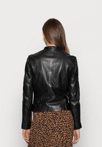 Gipsy - ZAI LASTAV - Leather jacket - black - 2