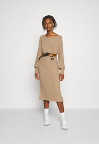 ICHI - Jumper dress - natural - 1