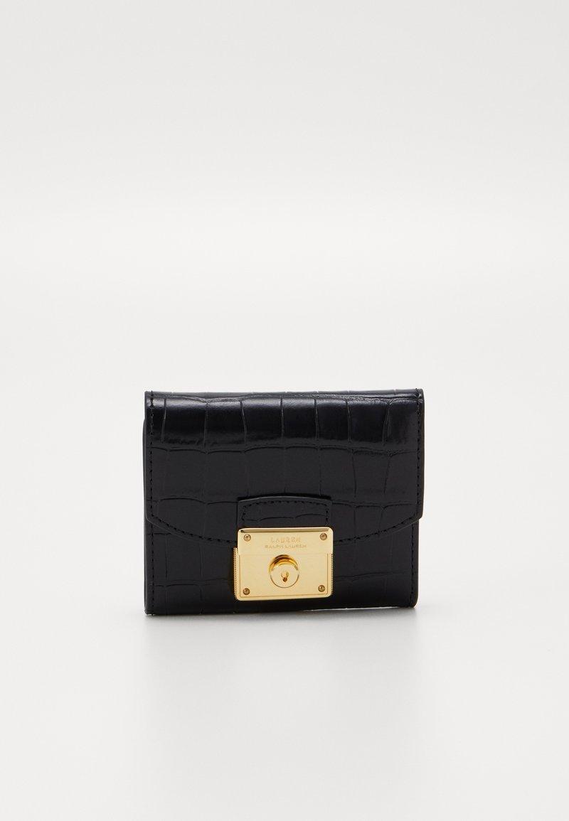 Lauren Ralph Lauren - LOCK COMPACT WALLET MEDIUM - Wallet - black