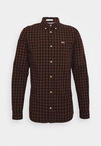 ESSENTIAL CHECK  - Camicia - black/multi