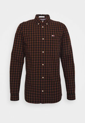 ESSENTIAL CHECK  - Shirt - black/multi