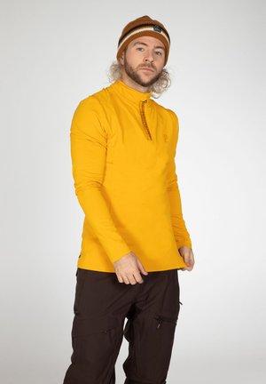 Long sleeved top - dark yellow