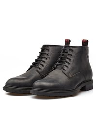 Base London - CLIFTON PULL UP - Veterboots - black - 1