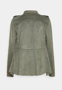 Guess - SOFIA JACKET - Faux leather jacket - baja palm - 1
