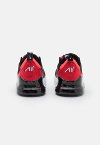 Nike Sportswear - AIR MAX 270 UNISEX - Trainers - black/white/university red/bright crimson - 2
