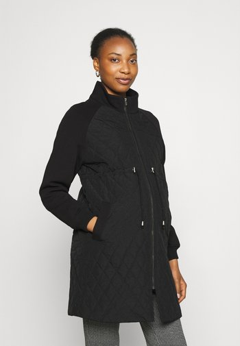 MLKABELA MIX JACKET - Short coat - black