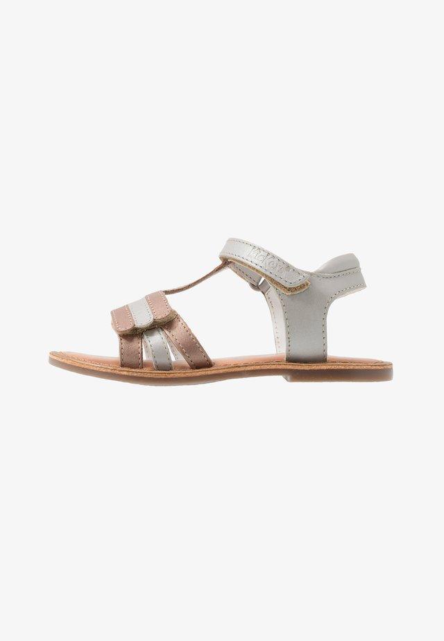 DIAMANTO - Sandals - rose argent