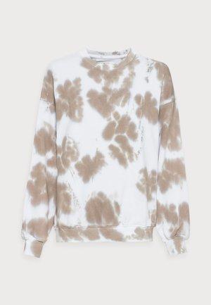 LEELA - Sweatshirt - beige batik