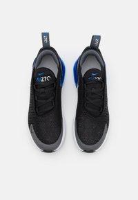 Nike Sportswear - AIR MAX 270  - Tenisky - black/game royal/iron grey/white - 3