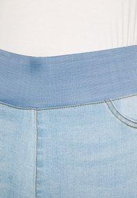 Freequent - FQSHANTAL ANKLE BROKEN - Jeans slim fit - bleached blue denim - 3