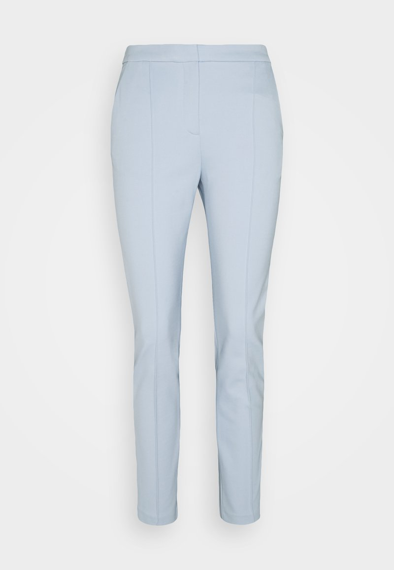 KARL LAGERFELD - SUMMER PUNTO PANTS - Stoffhose - light blue