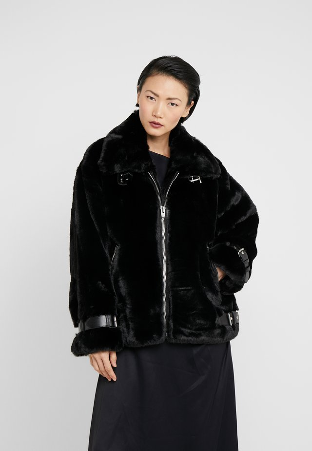 FOURRURE - Winter jacket - black