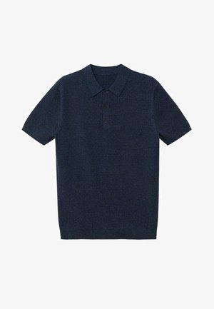 ANDREW - Polo - petrol blauw