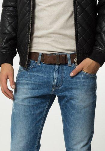 B-FRAG - Belt - mottled brown