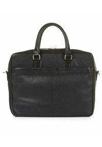 Howard London - MORRIS - Taška na laptop - black - 1
