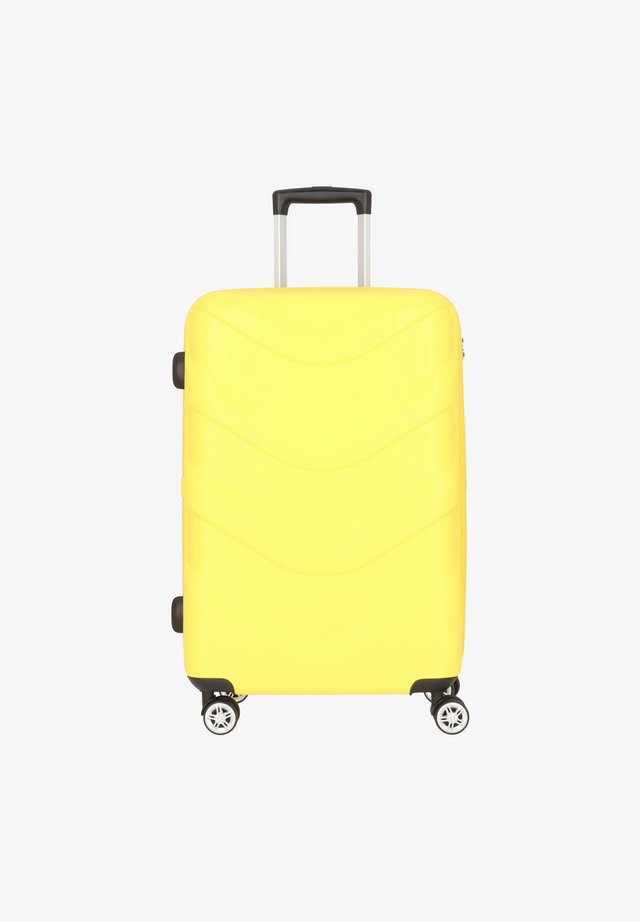 ARROW 2 4-ROLLEN TROLLEY 65 CM - Wheeled suitcase - yellow