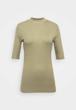 KROWN - Basic T-shirt - light khaki