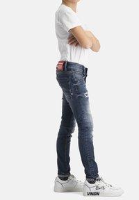 Vingino - Jeans Skinny Fit - dark used - 0