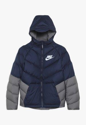 Winter jacket - midnight navy/gunsmoke/white