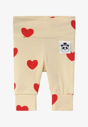 BABY HEARTS  - Leggings - Trousers - offwhite
