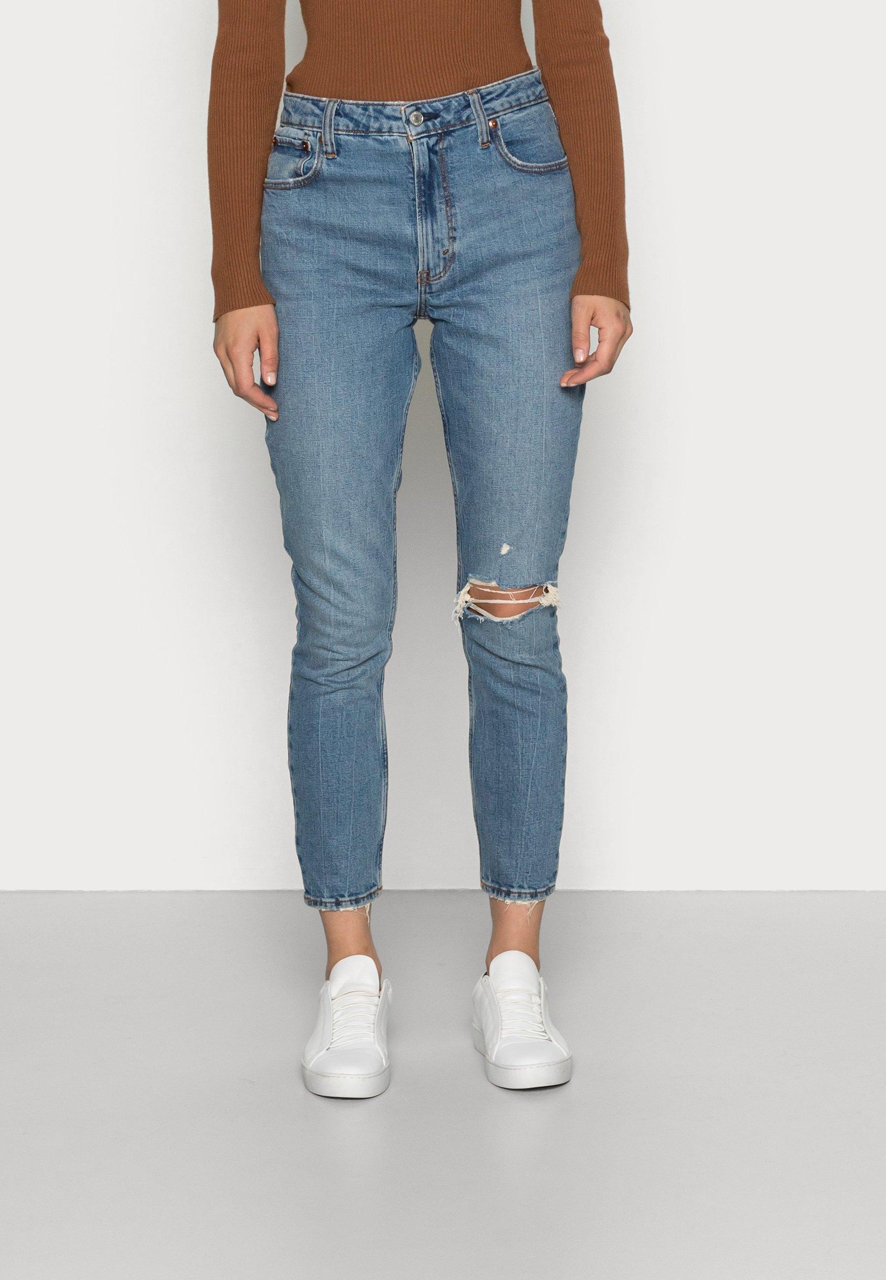 Women DARK DESTROY CURVY SKINNY - Jeans Skinny Fit