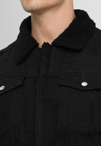 Be Edgy - BEKELVYN  - Kurtka jeansowa - black used - 3