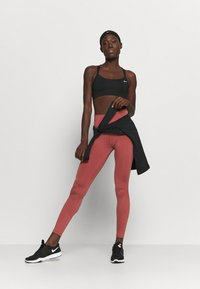 Nike Performance - ONE GOOD - Leggings - claystone red/gold - 1