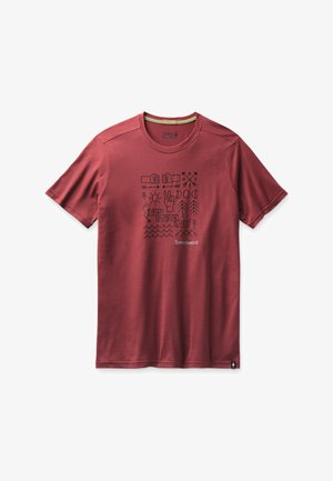 T-shirt print - masala