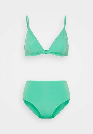 NADJA CECILIE CHEEKY SET - Bikini - green medium unique