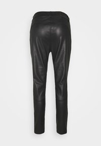 Pieszak - NEW ALEX PANT - Leather trousers - black