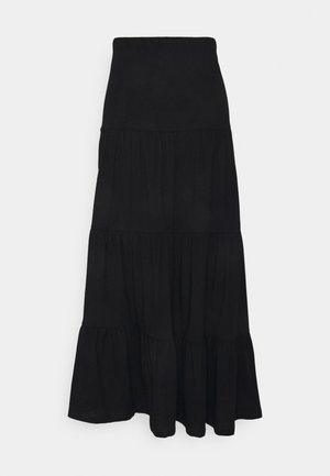 ONLMAY LIFE SKIRT - Maxi skirt - black