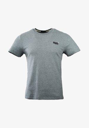 OL VINTAGE EMB  - Basic T-shirt - coastal blue grit