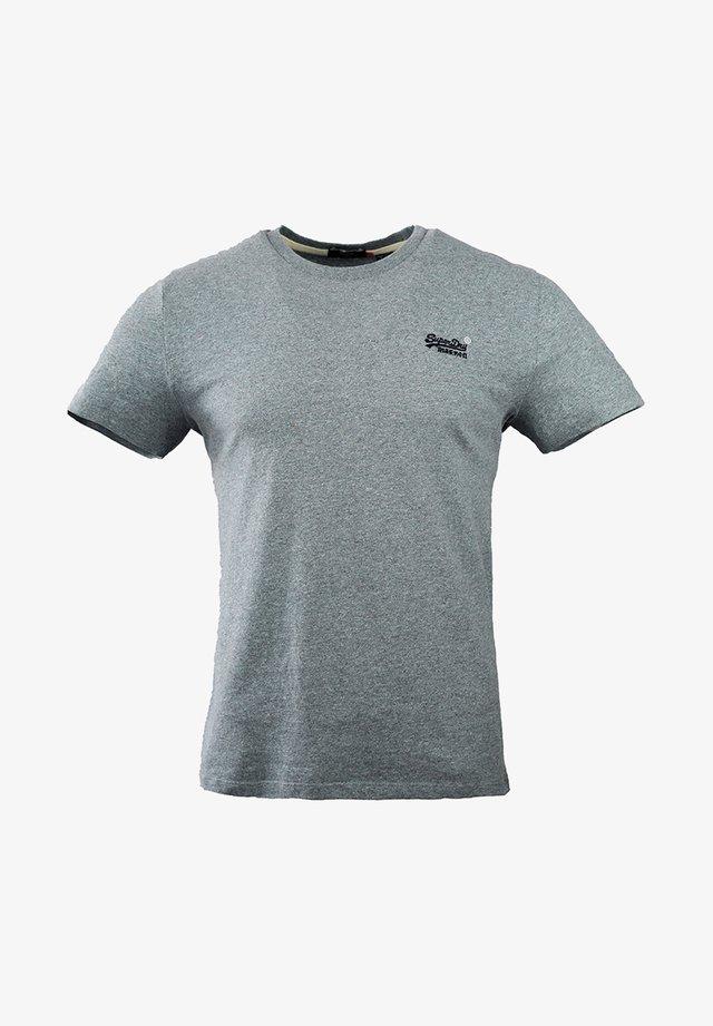 OL VINTAGE EMB  - T-shirt basic - coastal blue grit
