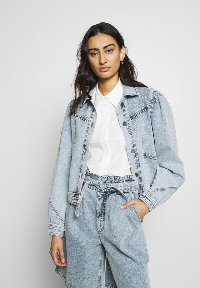 ATICAGZ JACKET - Kurtka jeansowa - light blue