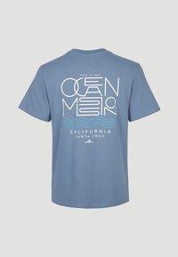 O'Neill - PACIFIC OCEAN - Print T-shirt - walton blue - 3