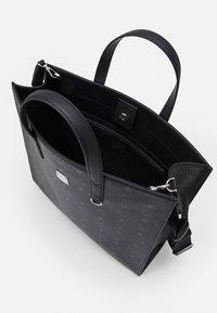 MCM - TOTE MED UNISEX - Tote bag - black - 2