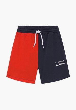 SPLIT - Teplákové kalhoty - navy/red