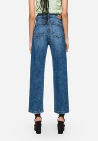 Pepe Jeans - DUA LIPA X PEPE JEANS  - Jeansy Straight Leg - blue denim - 2