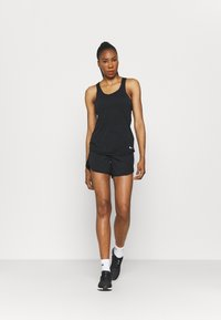Nike Performance - BREATHE TANK COOL - Top - black/reflective silver - 1