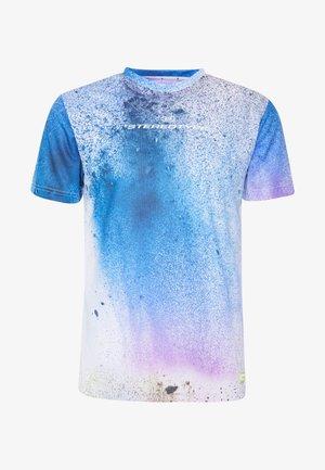 NIGHTMARE IN BLUE - Print T-shirt - blue