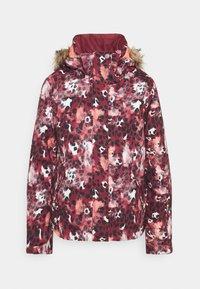 Roxy - JET SKI - Snowboard jacket - oxblood red - 7