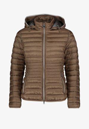MIT STEHKRAGEN - Winter jacket - classic bronze
