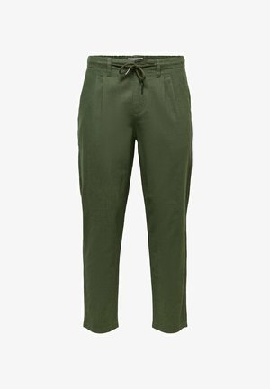 ONSLEO - Pantalones - olive night