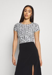Lace & Beads - NINETTE - Bluse - teal - 0