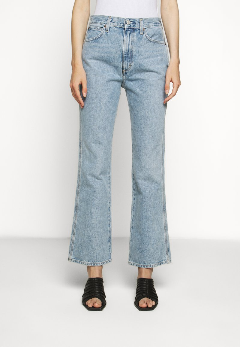 Agolde - BOOT - Bootcut jeans - blue denim
