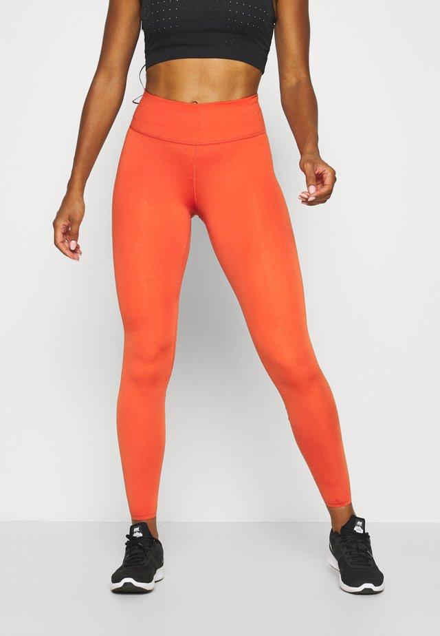 ONE LUXE - Leggings - mantra orange
